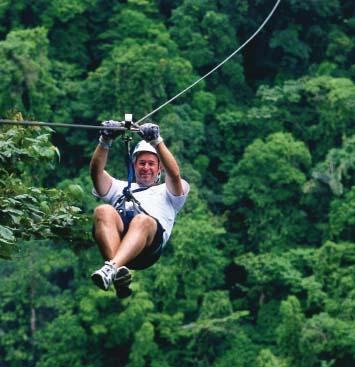 El Canopy es sin duda uno de los deportes de aventura mas practicados en Costa Rica este consiste en cruzar de un árbol a otro por medio de un cable ...  sc 1 st  Agencia de viajes Bravo Travel Costa Rica & Canopy Tour Arenal Costa Rica - Descripción